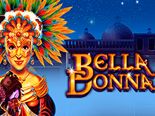 Автомат Bella Donna с бонусами за регистрацию