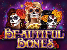 Автомат Beautiful Bones онлайн от Microgaming