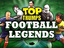 Автомат Top Trumps Football Legends от Playtech на игровом сайте